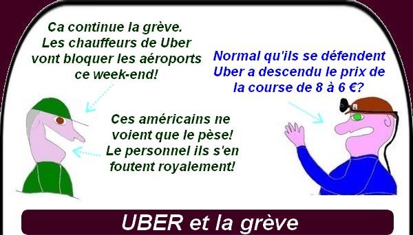 Uber, SDF, ce sont les infos du jeudi
