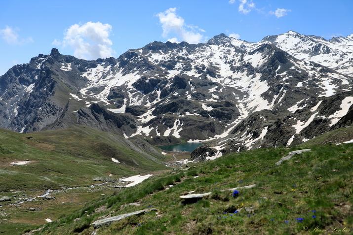 Entre Queyras et Piemont, Lac Bleu