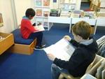 Les CE1-CE2 à la bibliothèque
