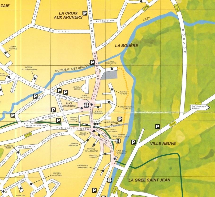 ESPACE NATURE:  D  01-07-2021  6/6  chemin du ru des Brelles LA GACILLY