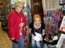Dédicaces Catherine Carrère Romancière pour 2012