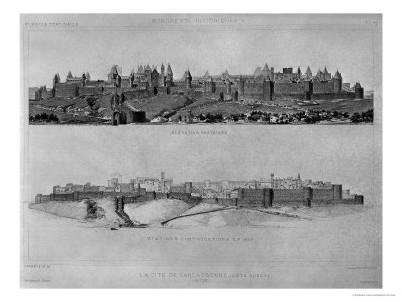 La Cité de Carcassonne sur Google