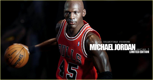 Figurines Michael Jordan by Enterbay