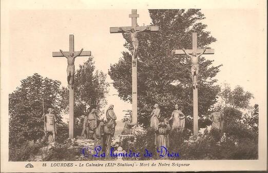 Lourdes : Le chemin de croix