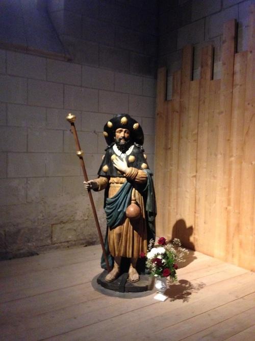Châtellerault - Statue de St Jacques