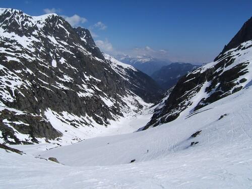 Montée vers le Col de Bérard