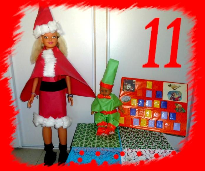 11ème jour de l'Avent, Noël approche