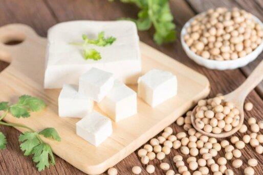 Le soja contient des protéines d'origine végétale