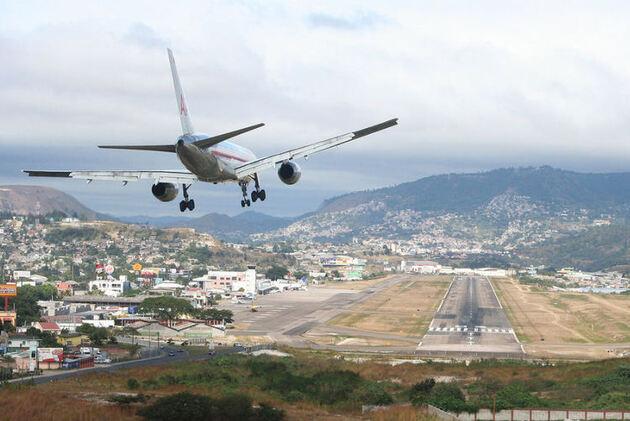 Aéroport Toncontin Honduras