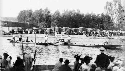 Souvenirs du flottage du bois à Vermenton