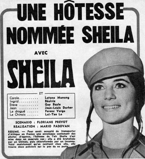 UNE HOTESSE NOMMEE SHEILA / N°3