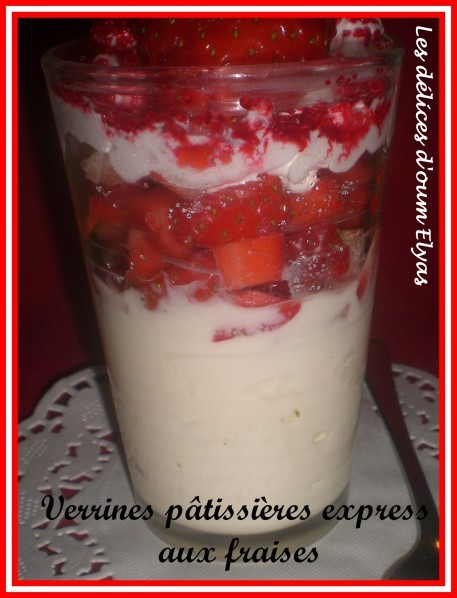 Verrines pâtissières express aux fraises (3)