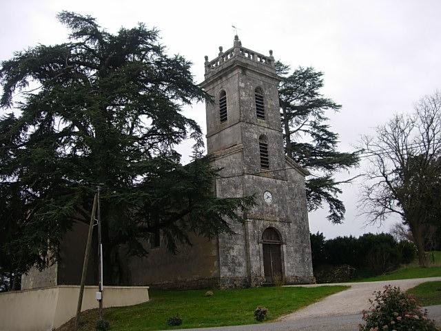 L'eglise - Sainte-Gemme
