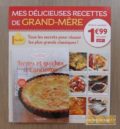 """Collection """" Mes délicieuses recettes de grand-mère """" - Juillet 2016"""