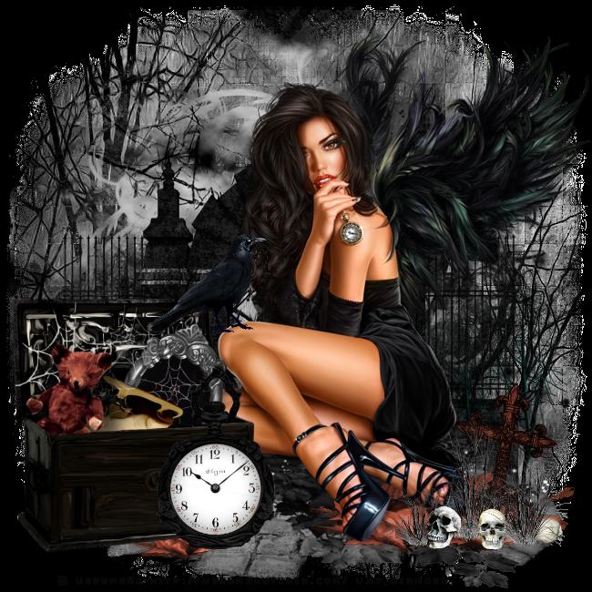 Tutoriel Halloween 8 de Liligraph chez Delire2scrap
