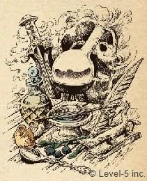 Super Alchimiste Tools recettes ingredients alchimie ni no kuni, feuilles du Vieux Chenu, pierre rituelle, pierre féroce, réminitescence, phosphorelle, éclat d'obsidienne, baie-des-rois, bloc d'acier brut, brumis immacula, bouclier de fer, grandelame, grosse babane, tibia robuste, orangelle des plaines, noix de vacarmadia, pousses coup-de-pouces, feuilles de raviviane, trempierre, flocon de neige, barbe de gnome, bille de jade, bouclier de grognard, armure de grognard, épée de soldat, casque de soldat, éclat de glace, griffes sylvestres, griffes hantées, griffes cornues, griffes grossières, grande hache, cape des embruns, cape en peau de serpent, cape spectrale, toge de troupier, obsidienne, écusson de fanfaron, écusson de battant, écusson de fermeté, écaille robuste, faucille, robe-bourrasque, boizur, fragment de météorite, ailes noires, graines de la discorde, oeil omniscient, pipe à bulles, kaléidonacre