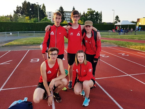 LES RESULTATS DU WEEK-END DES ATHLETES DE L'ACR DINAN