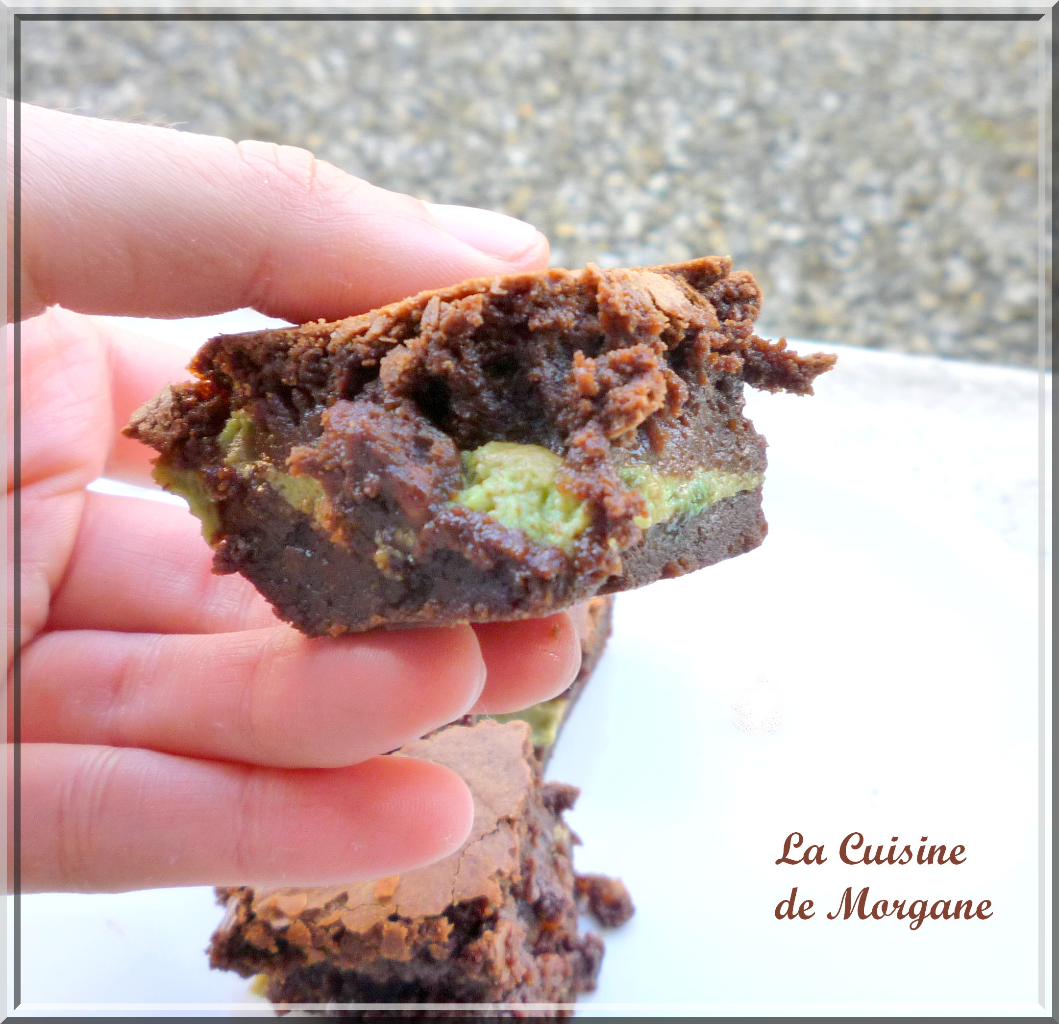 Brownie fourré aux petits suisses