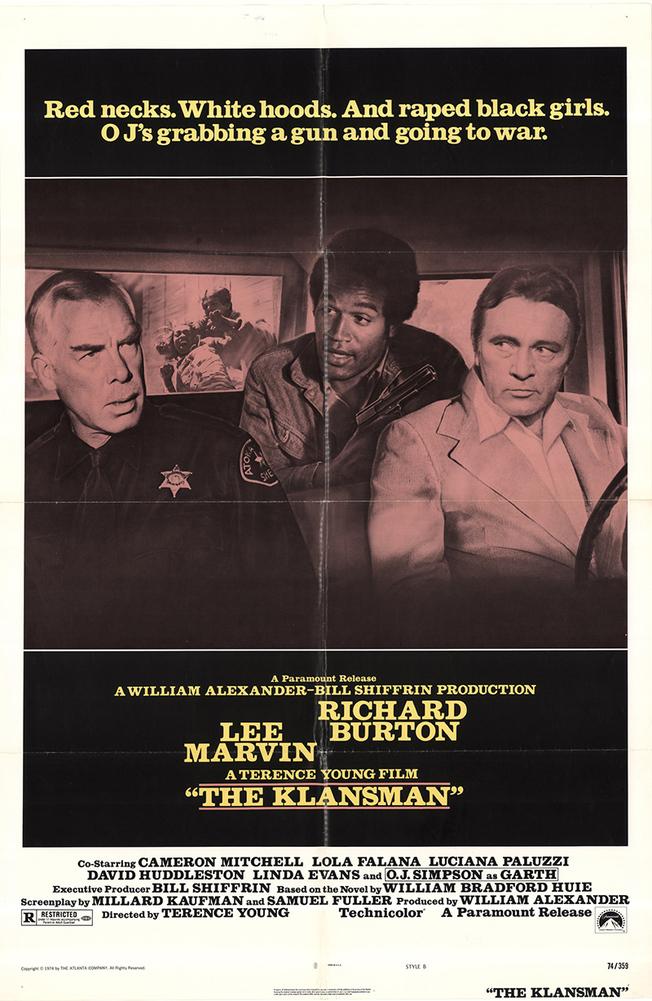 THE KLANSMAN BOX OFFICE USA 1974