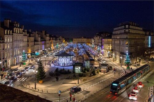 marché de Noël aux allées de Tourny