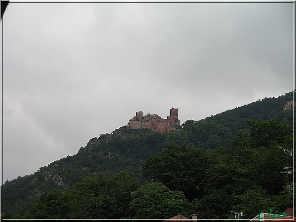 ALSACE JUIN 2010 RIBEAUVILLE CHATEAU ST ULRICH 2