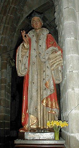 Saint Yves. Yves Hélory, prêtre et juge en Bretagne († 1303)