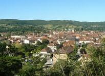 Vue sur Saint-Céré