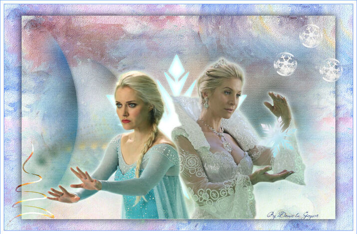 Reine des neiges et Reine des glaces