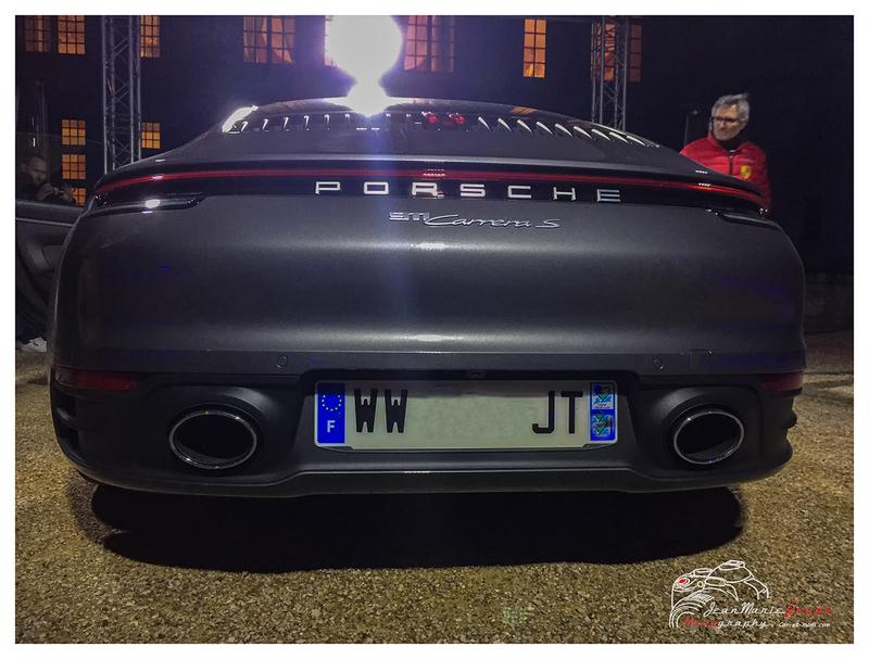Présentation de la nouvelle Porsche 911