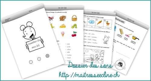 Apprentissage des sons en 3P Harmos