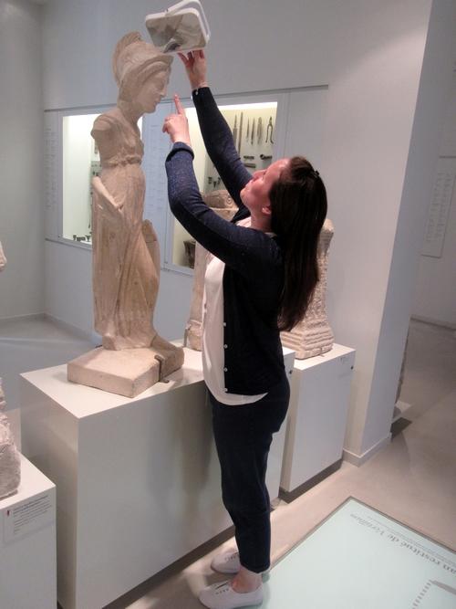 Les Journées de l'Archéologie nous ont fait découvrir le Musée du Pays Châtillonnais de bien agréable façon !
