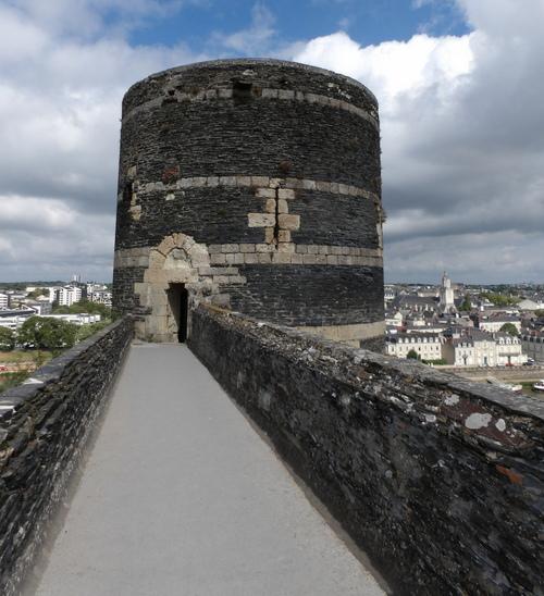 Le château d'Angers ( 1 )