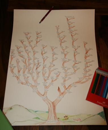Un arbre, des racines