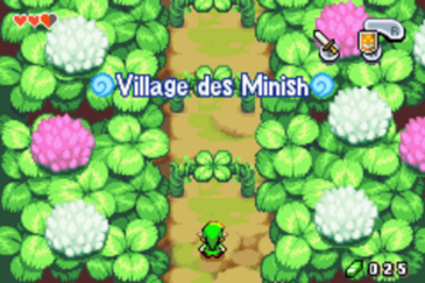 The Minish Cap - Chapitre 2 - Le village Minish