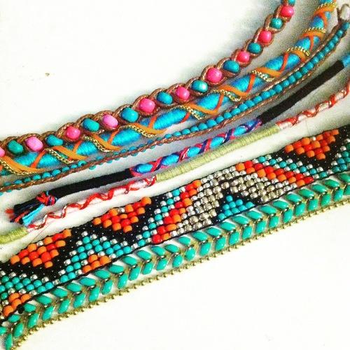 Nouveaux bijoux pour cet été & bracelet Hipanema !