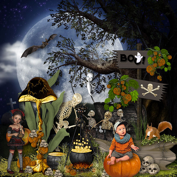 Fantastic Halloween by Louise L