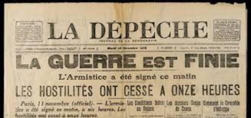 11 novembre : C'est l' Armistice