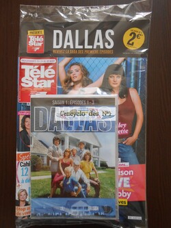 N° 1 Dallas la collection DVD