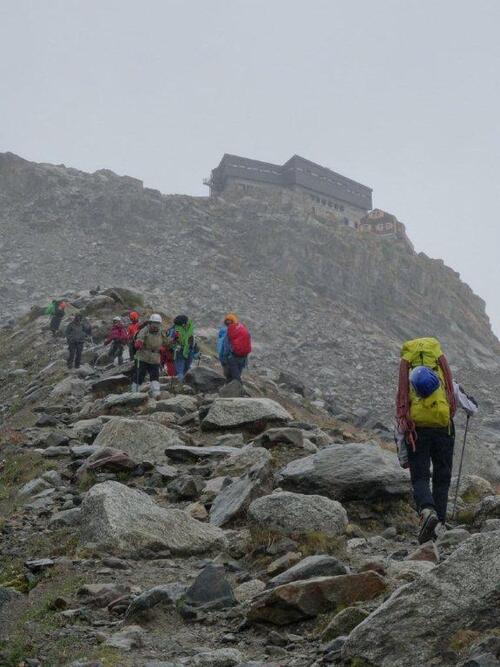 Stage d'alpinisme doré