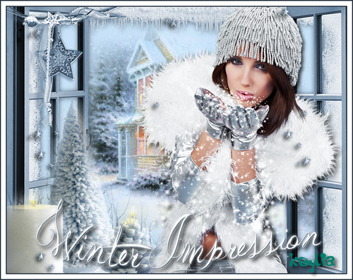 Tutoriel Winter Impression