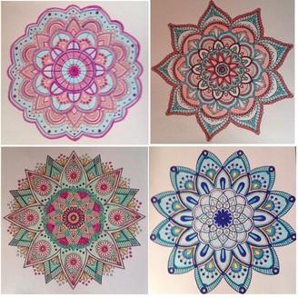 L'art du coloriage (Mandala)