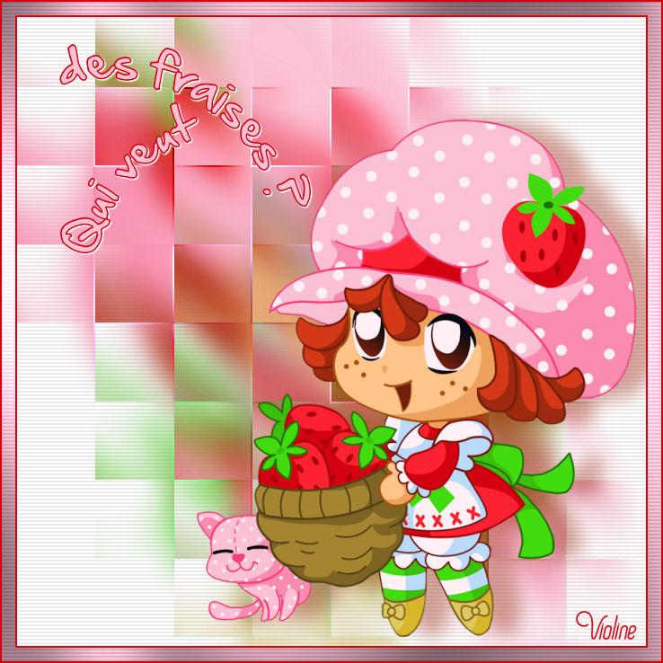 Qui veut des fraises ?