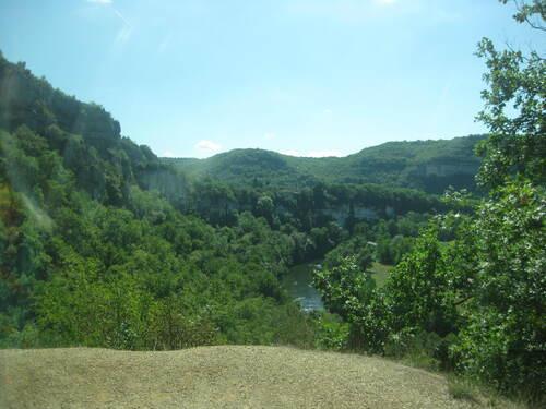 Mercredi 19 : Les gorges de l'Aveyron