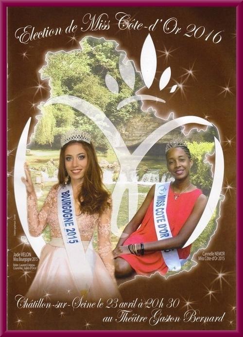 L'élection de Miss Côte d'Or 2016 à Châtillon sur Seine a été un spectacle magnifique et inoubliable !
