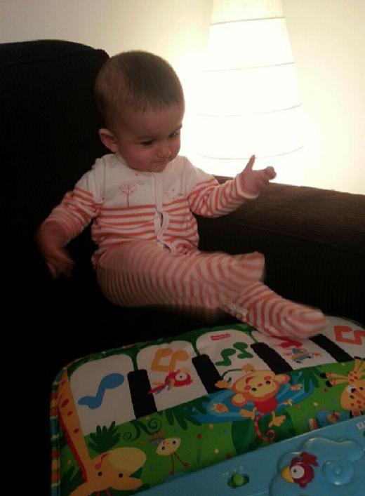 tableau musical bébé