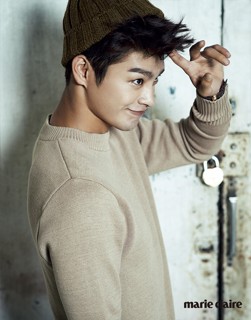 Seo In Guk pour Marie Claire