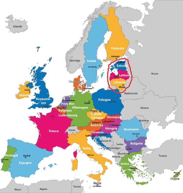 Voyage dans les Pays Baltes : Généralités