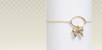 Bracelet Bazar Exquis Nacre Noeud