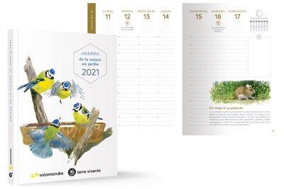 Agenda de la natuire au jardin 2021