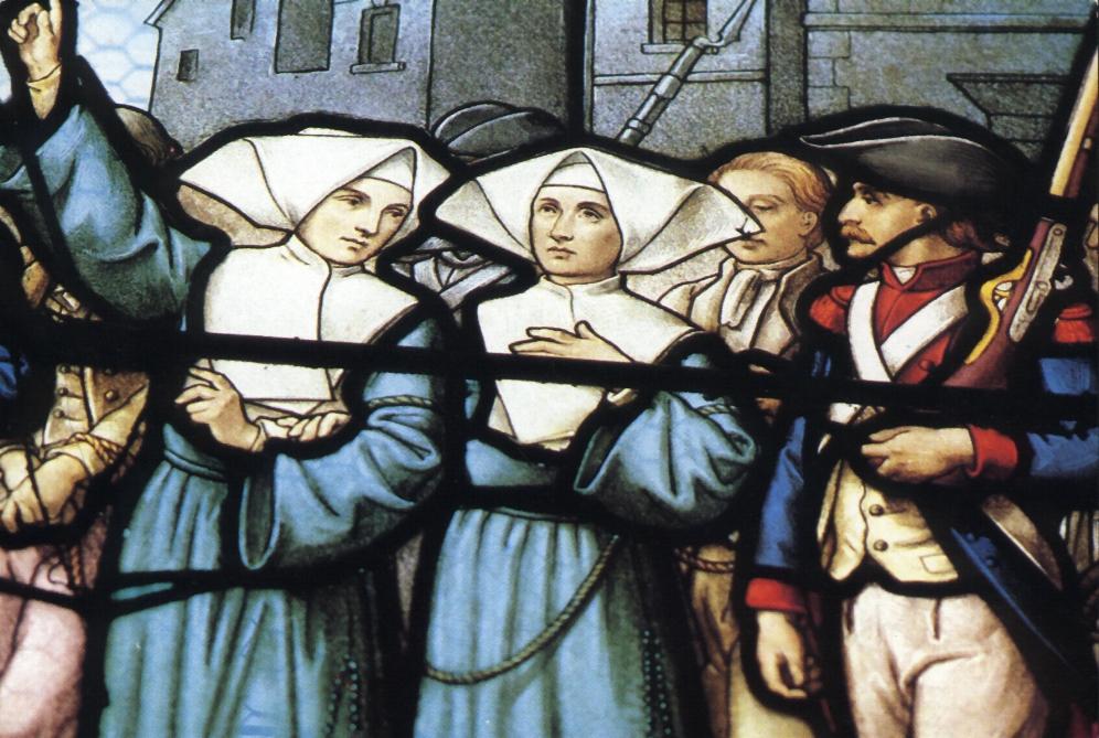 Bienheureuses Marie-Anne Vaillot et quarante-six compagnes, martyres sour la Révolution française († 1794)